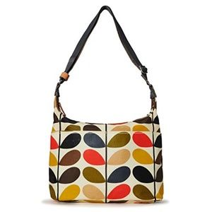 Orla Kiely Multi-Stem Crossbody Diaper / Baby Bag